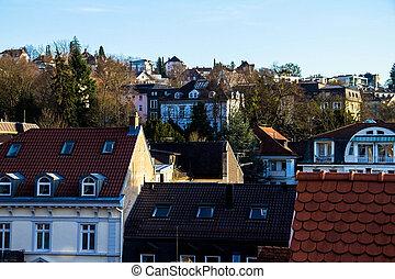 Roofs of Baden-Baden