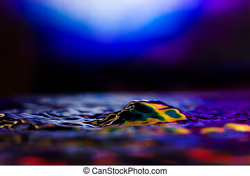 Colorful and Creative Water Drop Creations