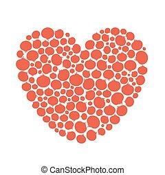 Tomato Love Vegetable Heart