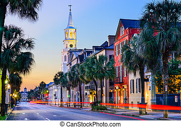 Charleston South Carolina - Charleston, South Carolina, USA...