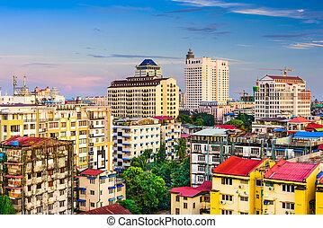 Yangon, Myanmar Skyline - Yangon, Myanmar downtown skyline.