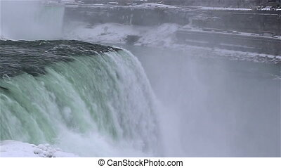 Niagara falls shot five winter time