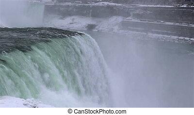 Niagara falls shot five winter time