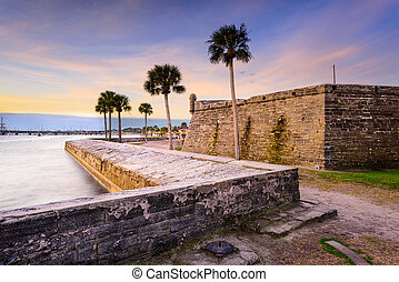 St. Augustine Florida - St. Augustine, Florida at the...