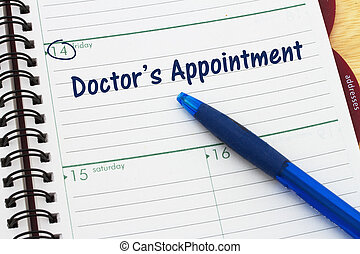 Scheduling your doctor's appointment