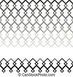 Seamless Gray scale Pattern from Square Intersections -...