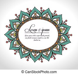 bohemian background design, vector illustration eps10...