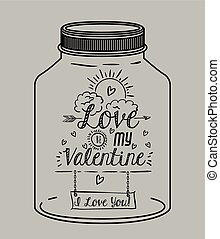 love message design, vector illustration eps10 graphic