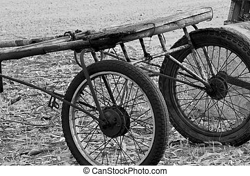 Old horse Buggy - Buggy once used in Trotting Horse Races