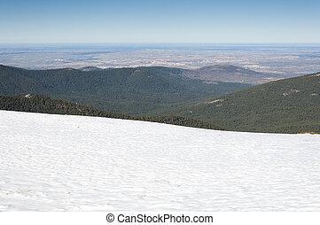 wizje lokalne, Od, Guadarrama, góry,