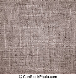 Abstract linen beige fabric texture as background