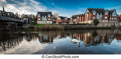 Tudor Riverside Appartments - Newly developed mock Tudor...