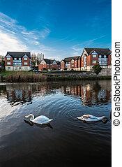 Tudor Riverside Appartments - Newly developed mock Tudor...