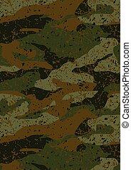 Khaki jungle mud camouflage repeat pattern .