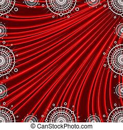 unusual snowflakes - pattern in the manner of unusual...
