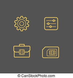 Mobile network operator icons - Mobile network operator...