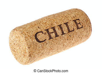 cork from the Chilean wine