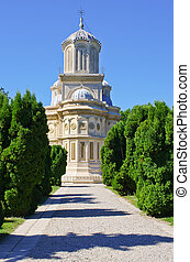 Church in Curtea de Arges, Romania
