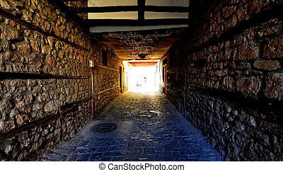Streets of Ohrid,Macedona - Picture of Streets at older part...