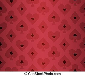 Simple red poker background with transparent effect - Simple...