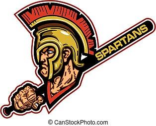 spartans baseball mascot