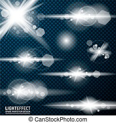 Light effect, flare, lighting Spare parts for illustration -...