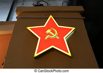 Red Star - symbol of the Soviet Union