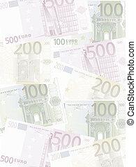 euro, fondo