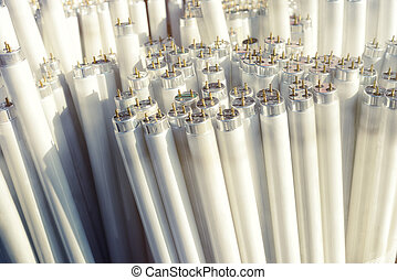 Fluorescent light tubes, electric pieces of rubbish,...