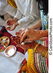 Indian Wedding Ceremony - wwwidjphotographycom
