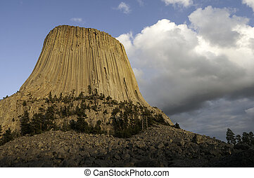 Devils Tower National Monument - Devils Tower which is also...