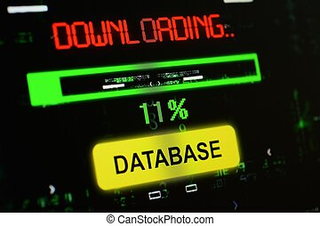 Downloading database