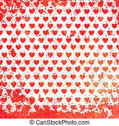 valentines, Dia, cartão