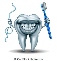 Teeth Cleaning Character