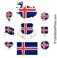 Iceland Flag Collection