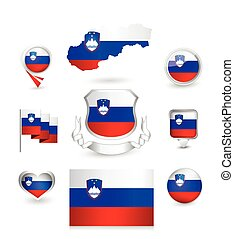 Slovenia Flag Collection