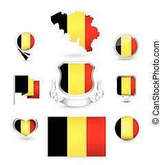 Belgium Flag Collection