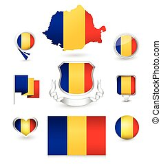 Romania Flag Collection