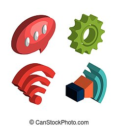 modern technology design - modern technology design, vector...