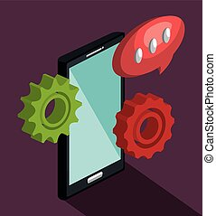 modern technology design, vector illustration eps10 graphic