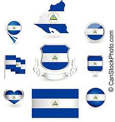 Nicaragua Flag Collection