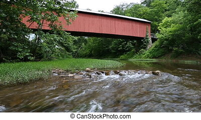 Hune Covered Bridge Loop - Loop features Hune Covered Bridge...