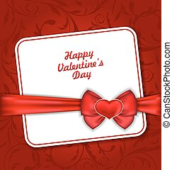 Beautiful Greeting Card for Valentines Day