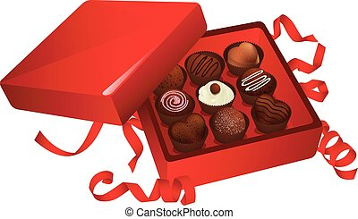 Box Of Chocolates Clip Art