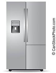 French door refrigerator  - French door, refrigerator