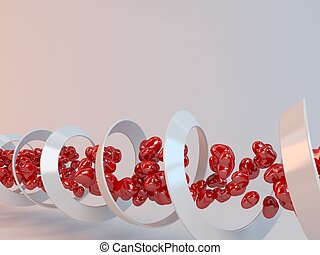 3d DNA of tunnel love