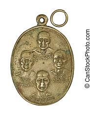 thai amulet with Monk names / kruba