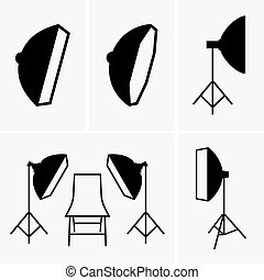 Tripods - Set of tripods (shade pictures)