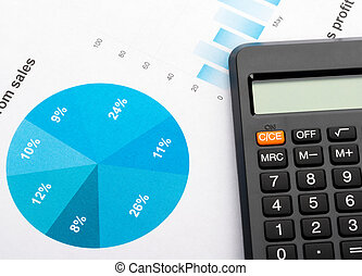 grafici, Calcolatore, finanziario, tabelle, analisi