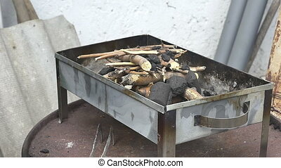 kindling grilled